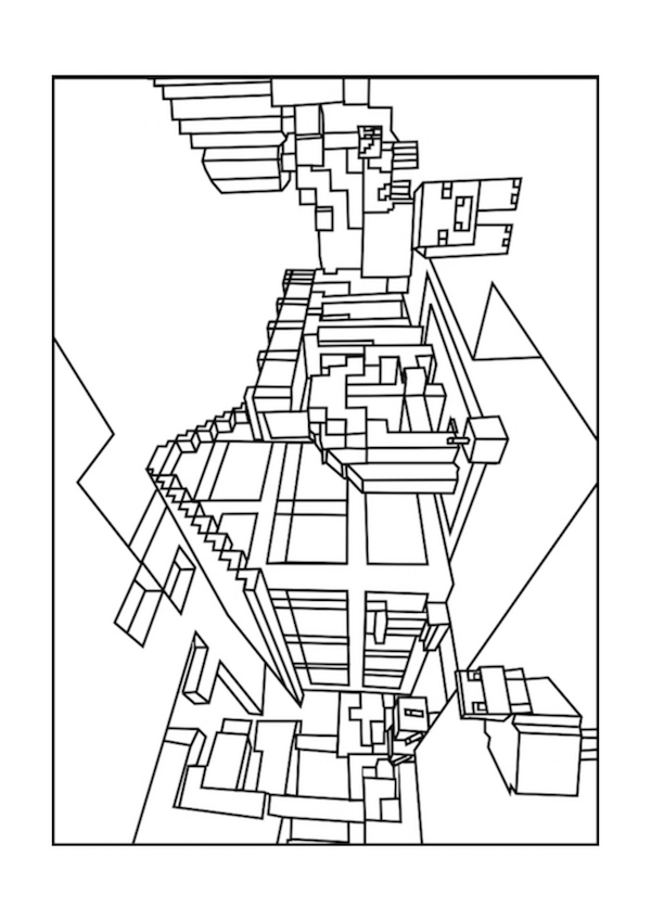 minecraft-kleurplaat-20