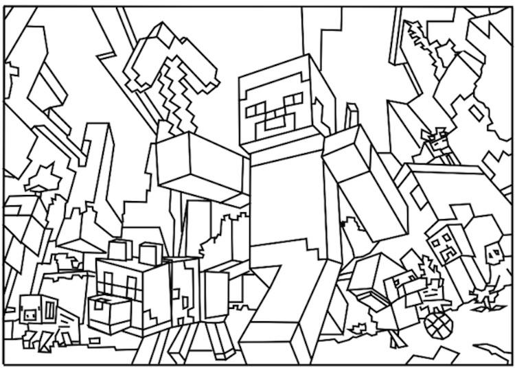 minecraft-kleurplaat-26