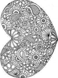 Kleurplaten Mandala Hartjes.Kleurplaten Hartjes En Valentijn Topkleurplaat Nl