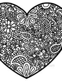 Welp Kleurplaten hartjes en ?Valentijn - TopKleurplaat.nl GM-26