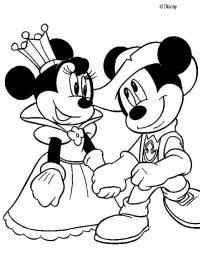 kleurplaten mickey mouse