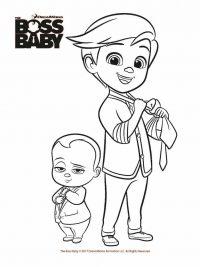 Kleurplaten Baby.Boss Baby Kleurplaten Topkleurplaat Nl