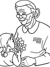 20 Opa En Oma Kleurplaten Gratis Te Printen Topkleurplaat Nl