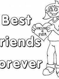 Bff Kleurplaten Voor Jou En Je Beste Vriendin