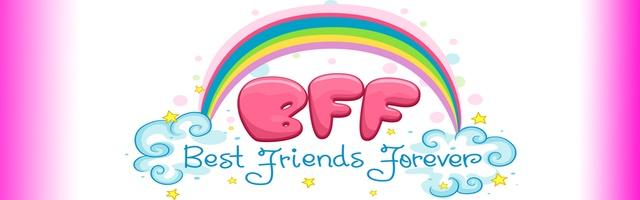 BFF kleurplaten