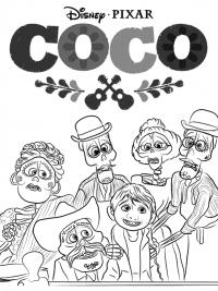 Coco Kleurplaten Topkleurplaat Nl