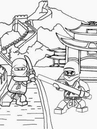 ninjago draak kleurplaat kidkleurplaat nl