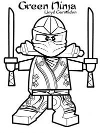 Kleurplaten Ninjago Lloyd.Lego Ninjago Kleurplaten Topkleurplaat Nl