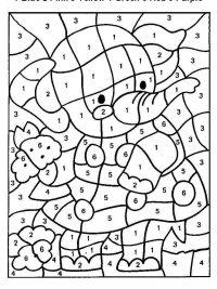 Kleurplaten Voor Volwassenen Met Nummers.15 Gratis Te Printen Kleuren Op Nummer Kleurplaten Topkleurplaat Nl