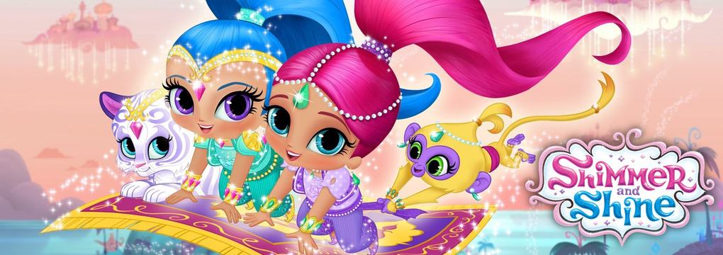 Shimmer and Shine kleurplaten