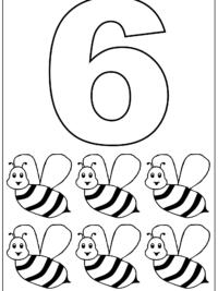 Kleurplaten Cijfers Topkleurplaat Nl