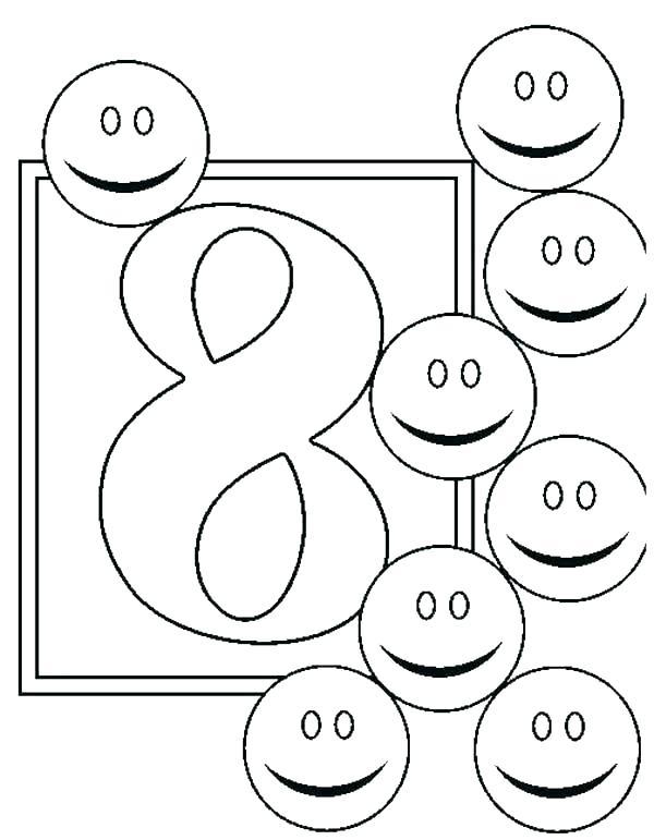 kleurplaat cijfer 8 2 topkleurplaat nl