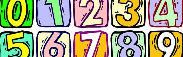 kleurplaten cijfers