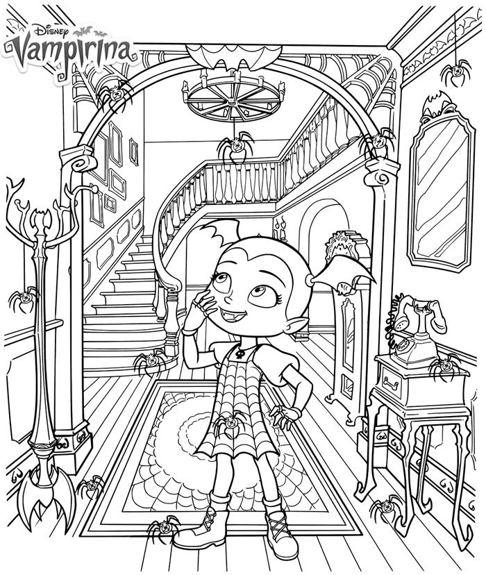 vampirina-kleurplaat02