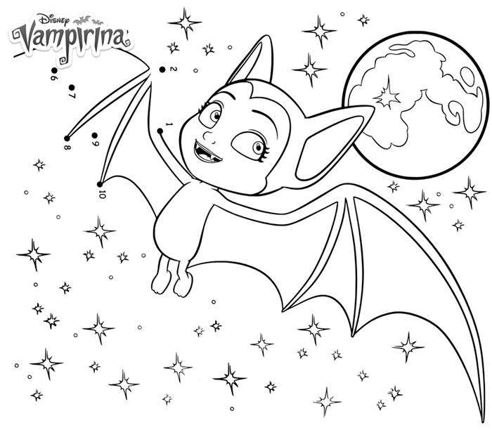 vampirina-kleurplaat06