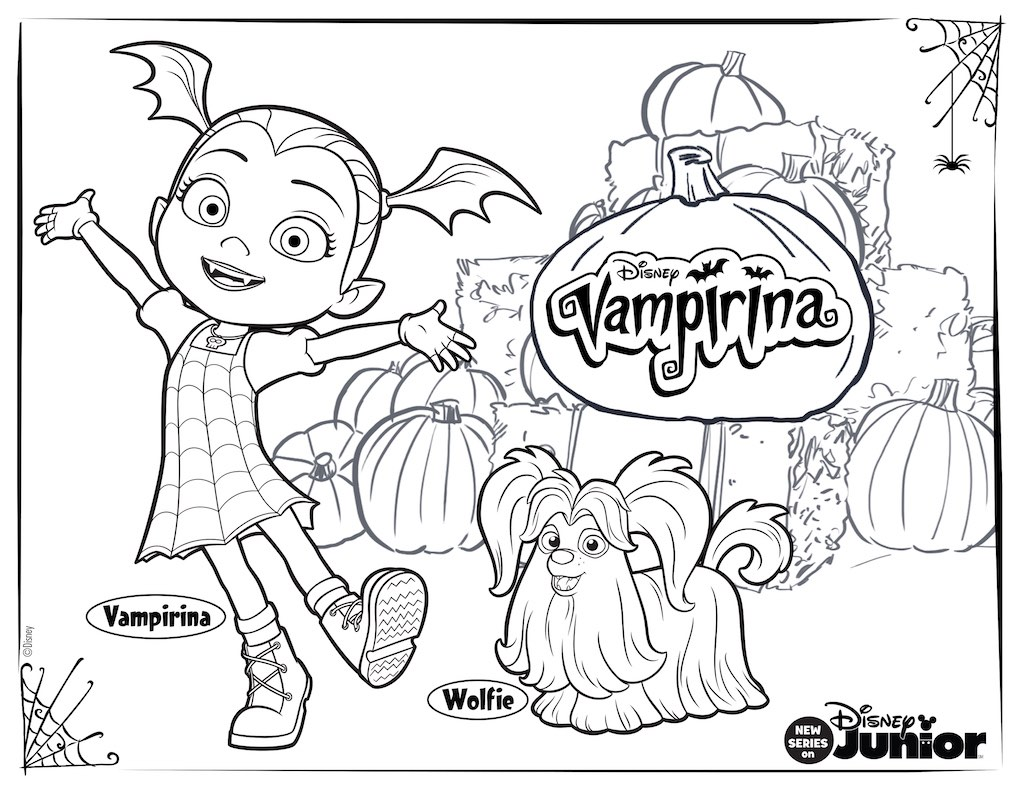 vampirina-kleurplaat09