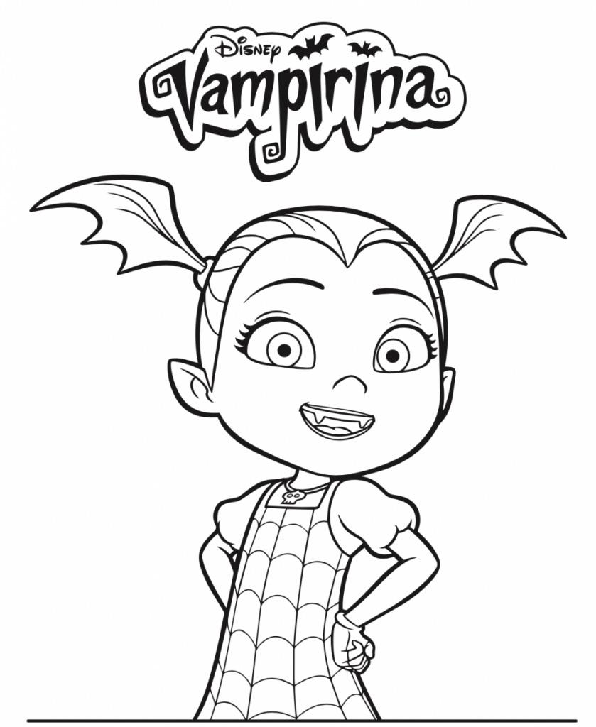 vampirina-kleurplaat11