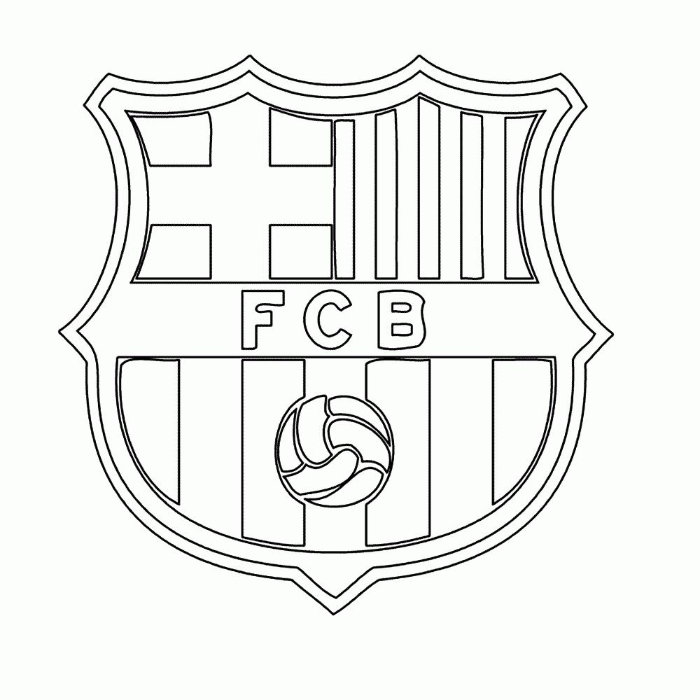 leuk voor sport voetbal kleurplaten fc barcelona