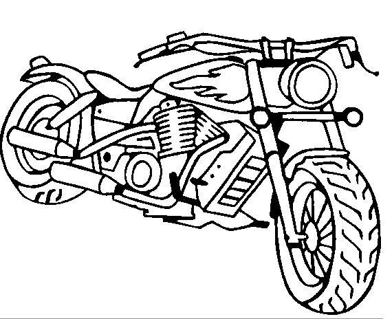 kleurplaat-motoren11