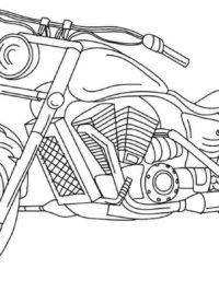Kleurplaten Motoren Topkleurplaat Nl