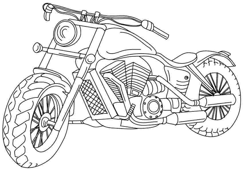 kleurplaat-motoren13