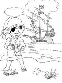 Kleurplaten Piraten Topkleurplaat Nl
