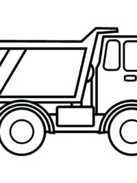 kleurplaten vrachtwagen topkleurplaat nl