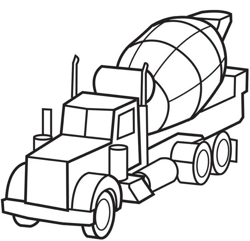 kleurplaat-vrachtwagen03