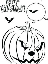 Kleurplaten Halloween Printen.35 Halloween Kleurplaten En Horror Kleurplaten