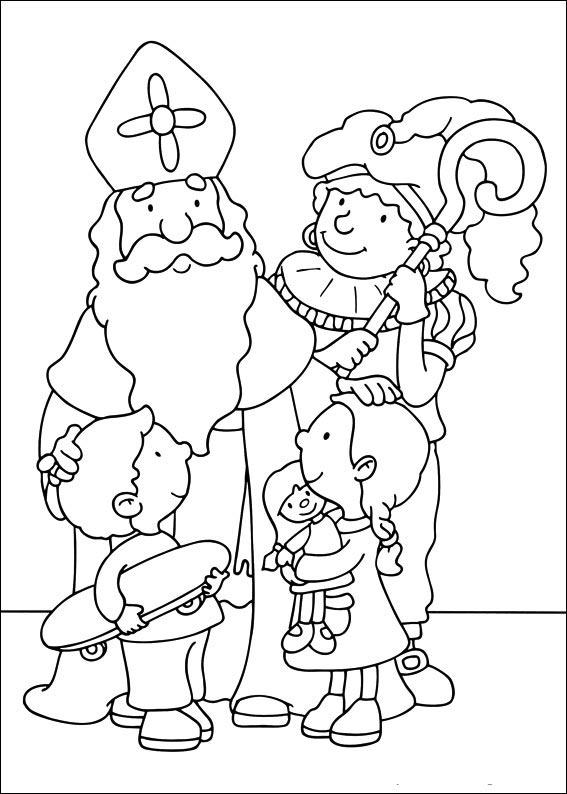 Sint, Piet en kinderen