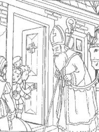 Sinterklaasjournaal Kleurplaat Printen Sinterklaas Kleurplaten 2019 Gratis Printen