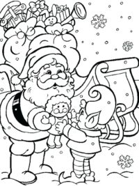 Kleurplaten Van Kerstmis Nieuwjaar.85 Kerst Kleurplaten Gratis Te Printen Topkleurplaat Nl