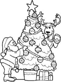 Kleurplaten Printen Kerst.75 Kerst Kleurplaten Gratis Te Printen Topkleurplaat Nl