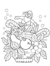 Kleurplaten Kerst Bovenbouw.75 Kerst Kleurplaten Gratis Te Printen Topkleurplaat Nl