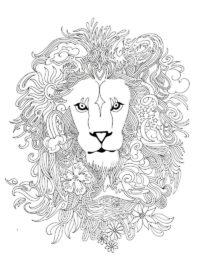 Kleurplaten Leeuwenkop.60 Kleurplaten Voor Volwassenen Gratis Te Printen Topkleurplaat Nl