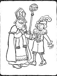 Kleurplaten Kleuren En Printen.Wachten Op Sinterklaas Kleurplaat 75 Sinterklaas Kleurplaten Gratis