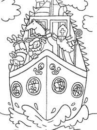Kleurplaten Volwassenen Sinterklaas Kleurplaat Moeilijk.Sinterklaas Kleurplaten 2019 Gratis Printen
