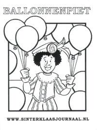 Kleurplaten Zwarte Piet Hoofd.75 Sinterklaas Kleurplaten Gratis Printen En Kleuren