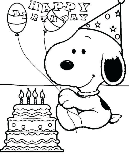 snoopy verjaardag