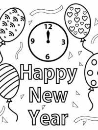 Kleurplaten Nieuwjaar 2019.Vuurwerk Kleurplaten Topkleurplaat Nl