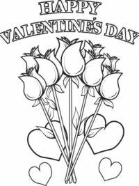 Kleurplaten Voor Valentijnsdag.Kleurplaten Hartjes En Valentijn Topkleurplaat Nl