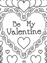 Kleurplaten Valentijn Volwassenen.Kleurplaten Hartjes En Valentijn Topkleurplaat Nl