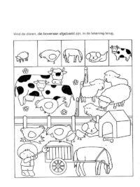 kleurplaten boerderij topkleurplaat nl