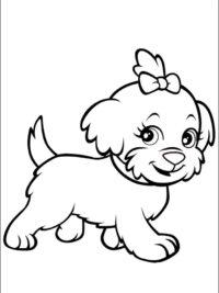 Kleurplaten Van Honden.Kleurplaten Hond Topkleurplaat Nl