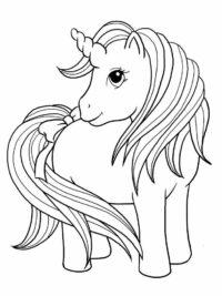 20 gratis te printen my pony kleurplaten