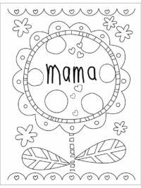 mewarna11 moederdag kleurplaat volwassenen
