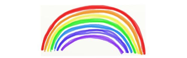Kleurplaten Van Een Regenboog.Regenboog Kleurplaten Topkleurplaat Nl