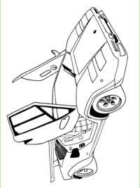 Kleurplaten Ferrari Enzo.Kleurplaat Ferrari Kidkleurplaat Nl