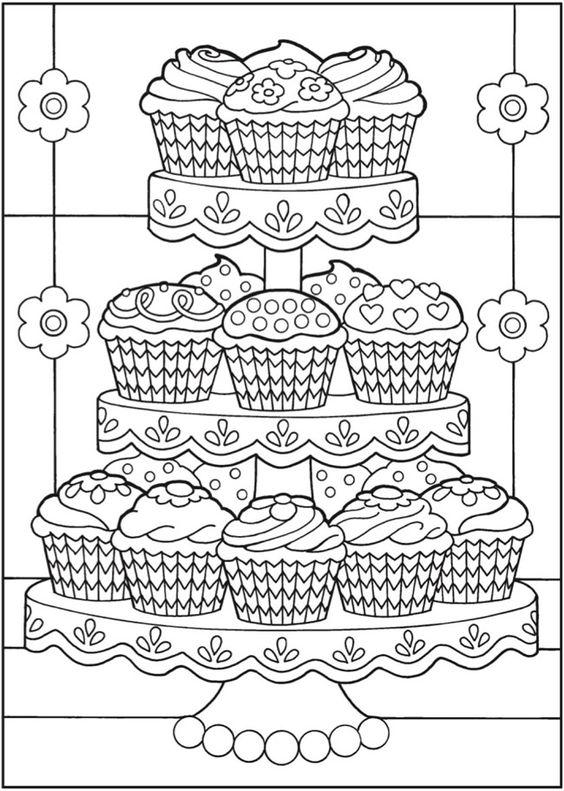 cupcakes04 TopKleurplaatnl