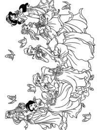 Eenhoorn Helllo Kitty Kleurplaat 20 Disney Prinsessen Kleurplaten Topkleurplaat Nl